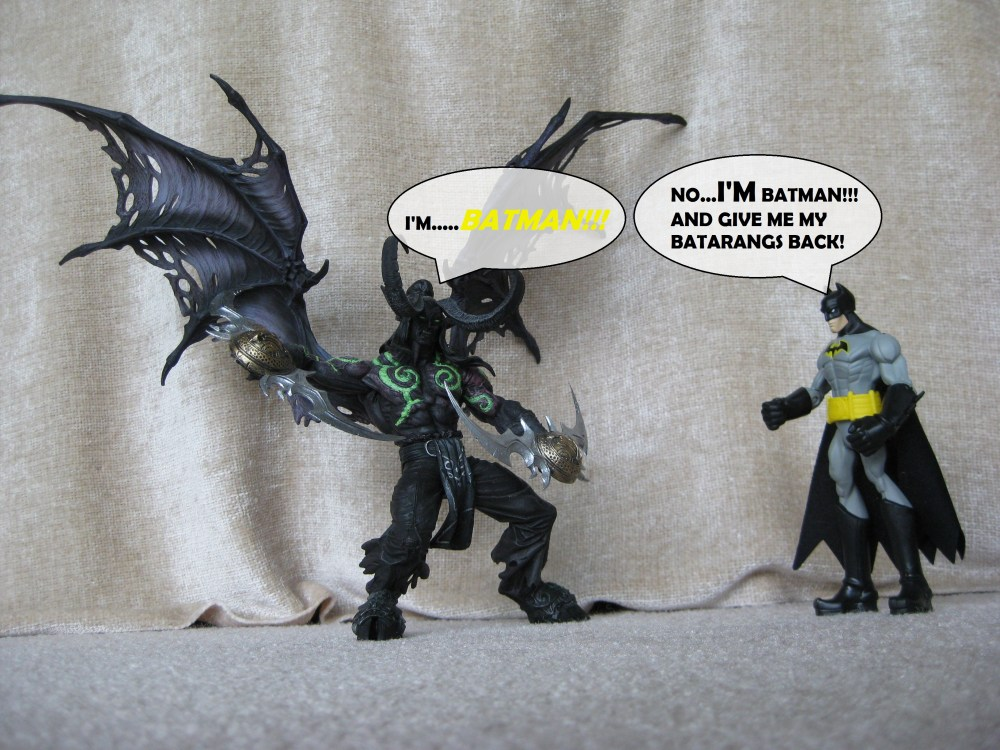 WarFare Theater: Illidan Stormrage is really....