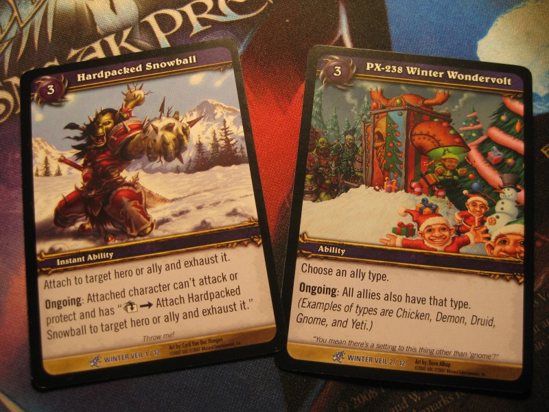 WoW TCG Sneak Peek - The Feast of Winter Veil (6/6)