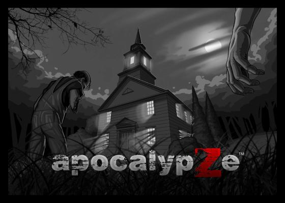 Are you ready to face the zombie ApocalypZe. Image courtesy of 9 Kingdoms Publications
