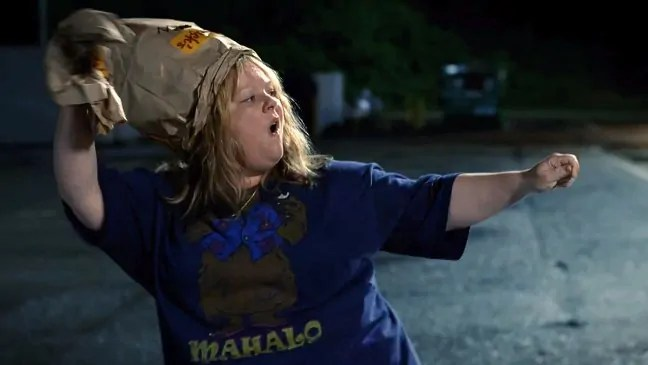 Melissa McCarthy in Tammy.