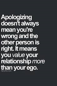 saying sorry quote