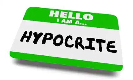 hypocrite liar