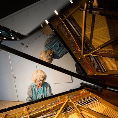 Music Department Dedicates New Piano
