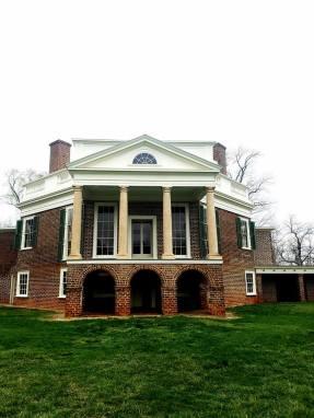 Thomas Jefferson's House at Poplar Forest. Photo provided by Vicky Kuharski. March 31, 2017..
