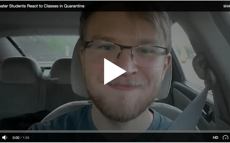 Theater Students Respond to Quarantine