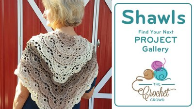 Crochet Shawl Project Gallery
