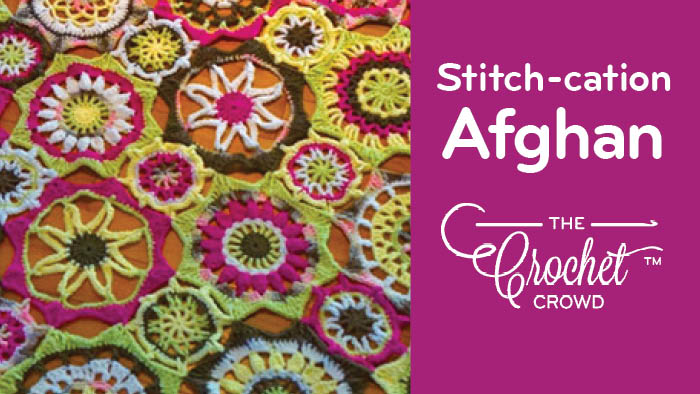 Amigurumi Stitch Tutorial : Crochet checkerboard stitch sampler afghan tutorials the