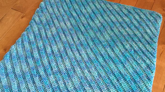 Crochet Corner To Corner Double Crochet Afghans The