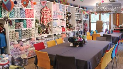 The Crochet Crowd Studio - Opens April 17th, 2019
