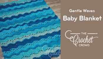 Crochet Hugs Kisses Baby Blanket Tutorial
