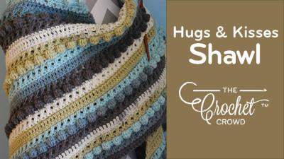 The crochet crowd page 3 of 186 learn to crochet with free crochet hugs kisses shawl fandeluxe Images