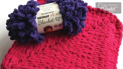 Knit My First From the Middle Square Blanket + Tutorial