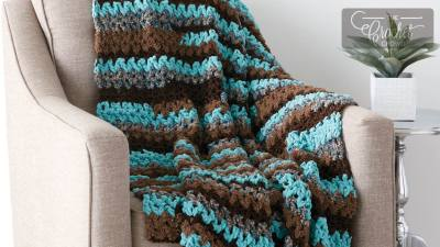 Crochet Easy Vee-sy Blanket
