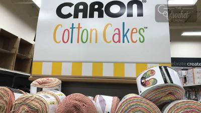 Caron Cotton Cakes - BIG FORMAT Arriving at Michaels