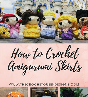 How to Curl Yarn - The Crochet Queen Designs