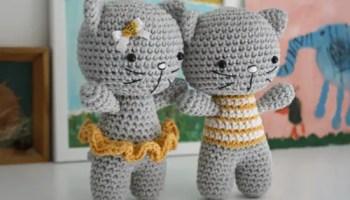 Patrón de gato amigurumi (amineko) en español | Momochi Amigurumi | 200x350