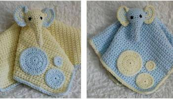 Ravelry: Cuddle and Play Elephant Baby Blanket pattern by Aneta ... | 200x350