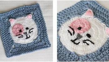Aligned Cobble Stitch Pillow Crochet Pattern | AllFreeCrochet.com | 200x350