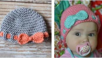 Adorable Baby Elephant Crochet Hat [FREE Crochet Pattern] - The ...   200x350