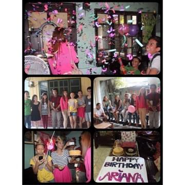 Ariana's surprise 19th birthday