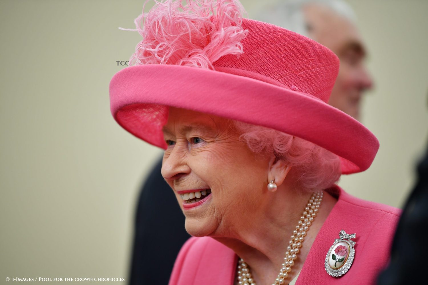 Image licensed to i-Images Picture Agency. 05/06/2019. Portsmouth, United Kingdom. Queen Elizabeth II  at the D-Day 75 Commemorations in Portsmouth, United Kingdom. Picture by i-Images / Pool