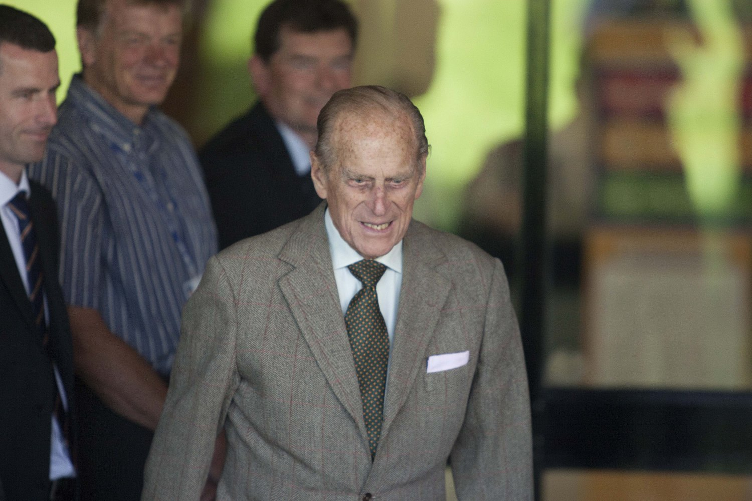 Prince Philip has given up his driving licence. (Splash News and Pictures)