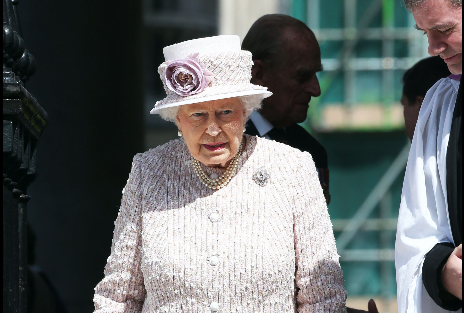 shake up to royal security distressing the queen? Picture by Stephen Lock / i-Images