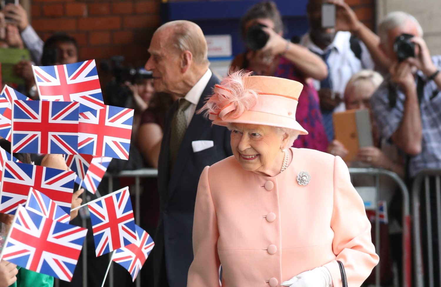 The Queen will host the first garden party of the year this coming week. Picture by Stephen Lock / i-Images