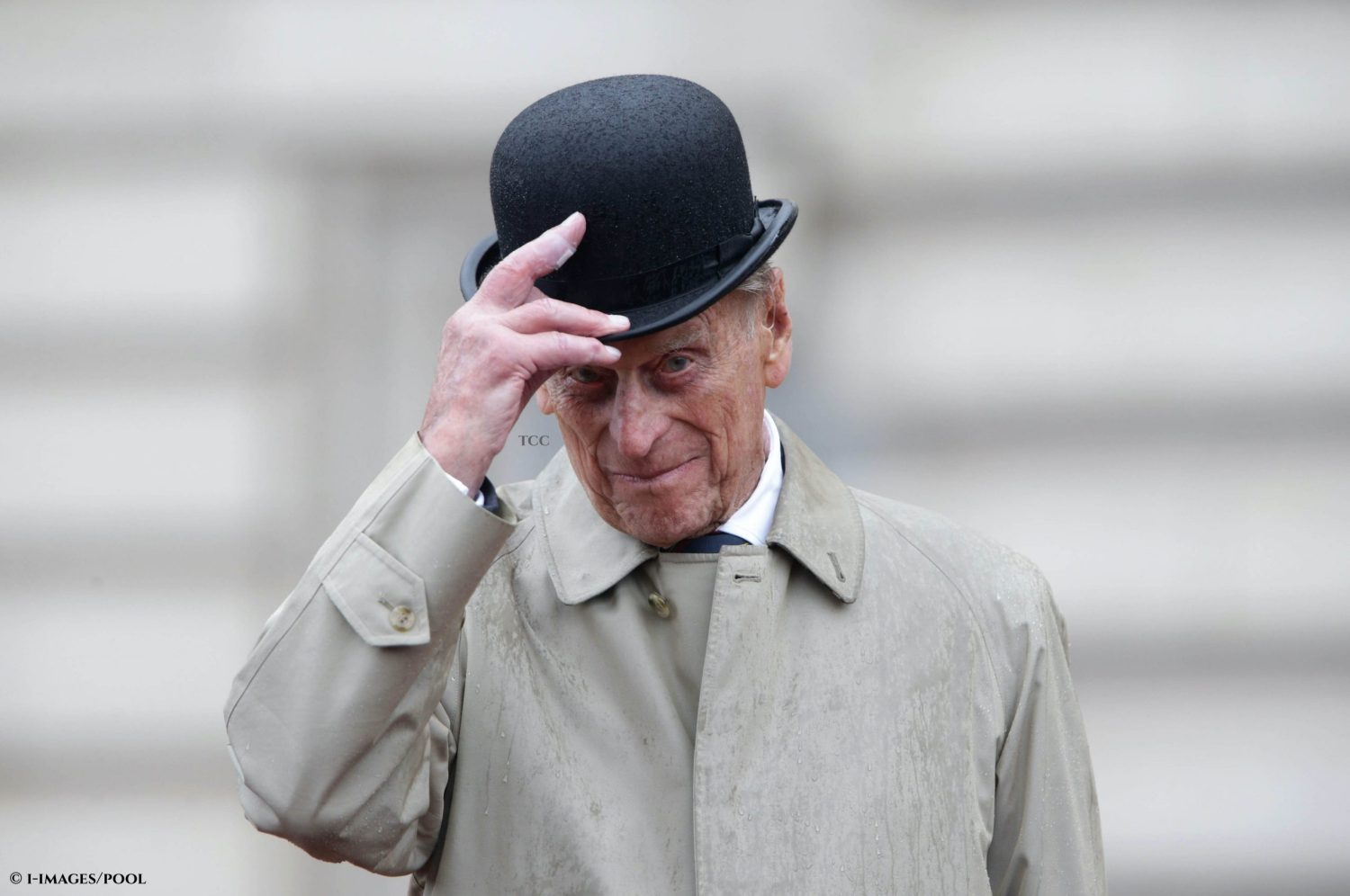 The Duke of Edinburgh attending the Captain General's Parade as his final individual public engagement, at Buckingham Palace in 2017.