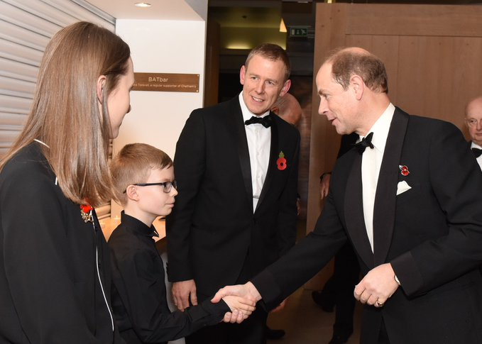 Earl of Wessex visits children's cancer charity and sees music triumph in north west
