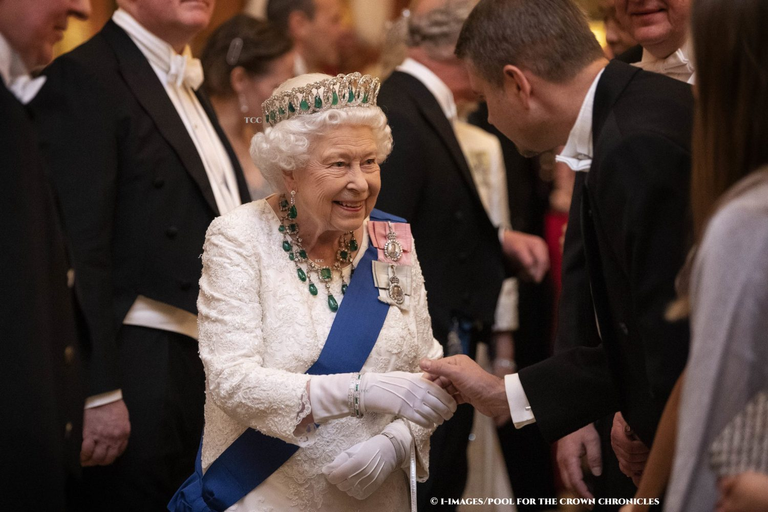 The Queen has recorded a video message to reassure the public. Picture by i-Images / Pool
