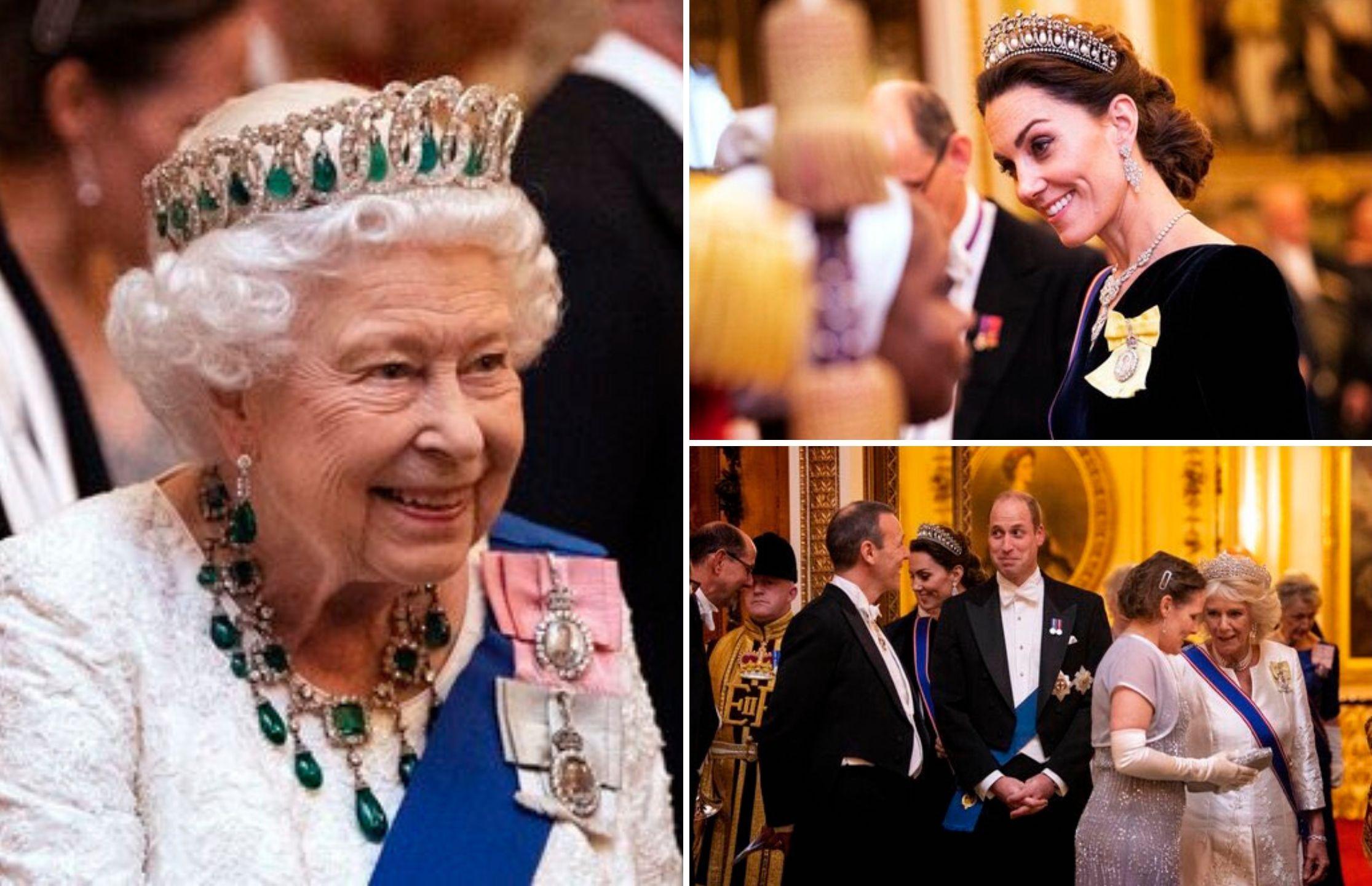 Emeralds & diamonds galore at the Diplomatic Corps reception tonight