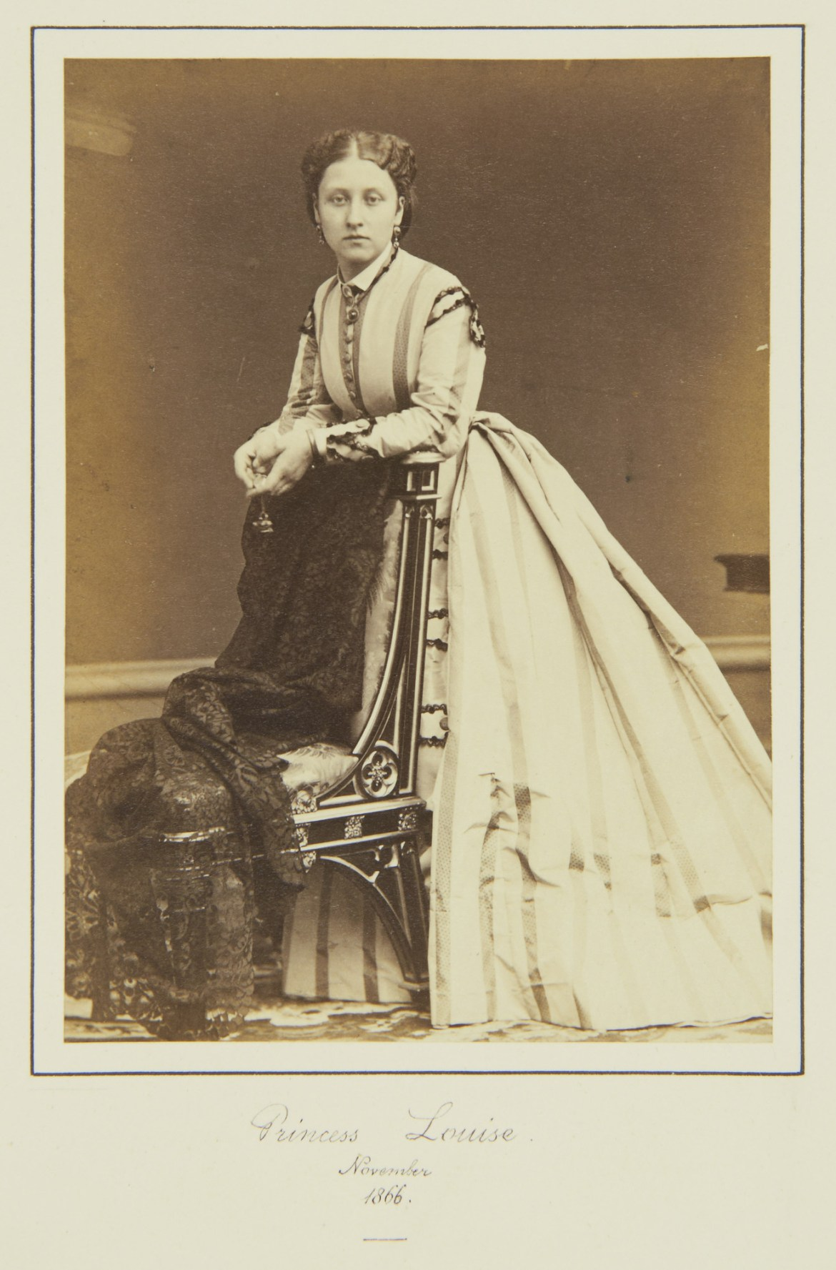 Princess Louise in 1866