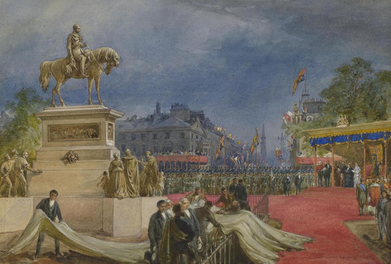 albert statute unveiling 1876