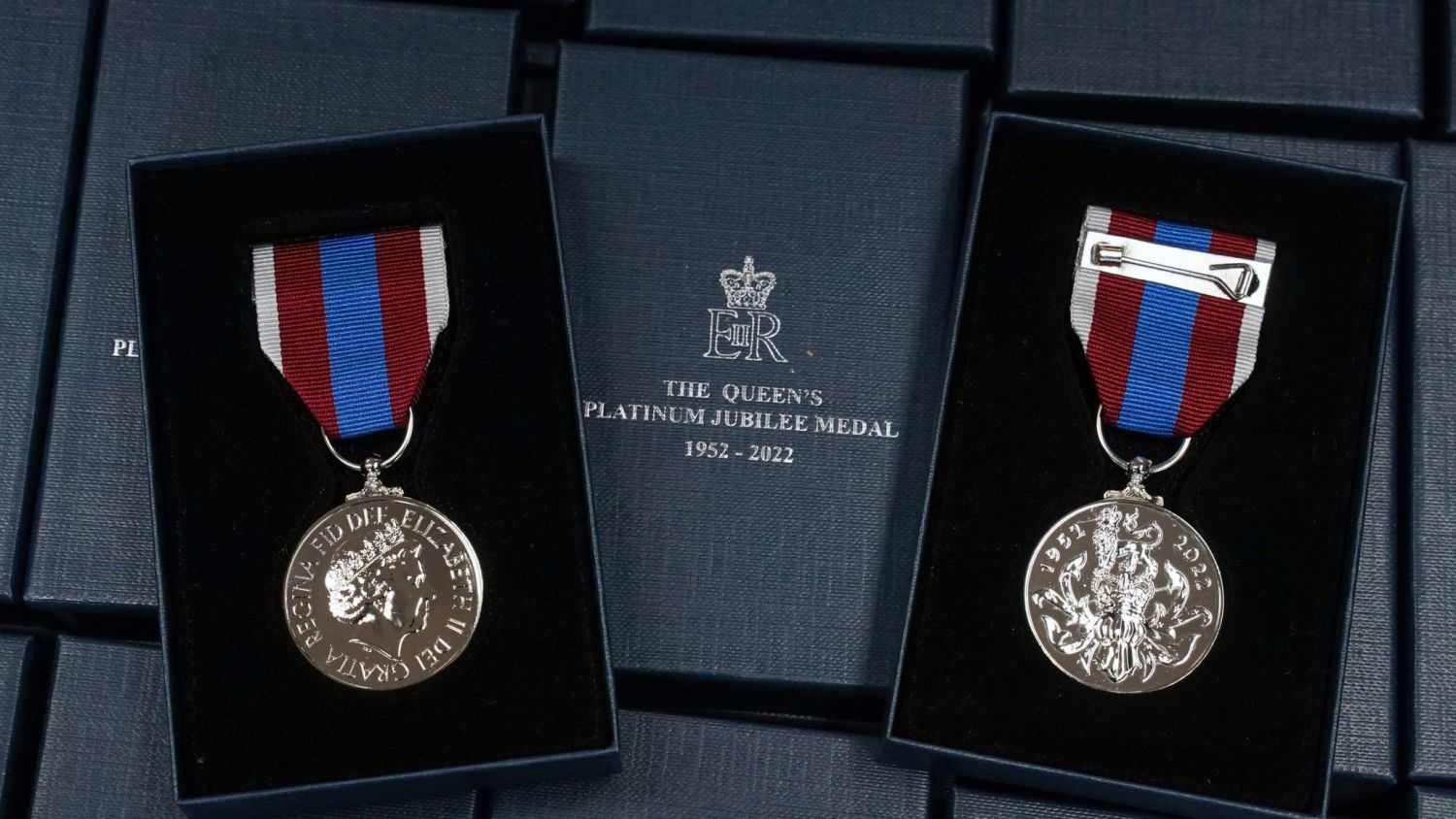 A medal has been released to mark The Queen's 70 years on the throne (DCMS/Crown Copyright)
