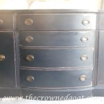 Buffet to China Hutch Base Part 2