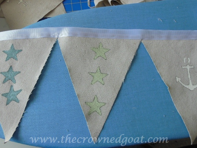 070414-7 Patriotic Inspiration: Coastal Bunting Crafts Holidays