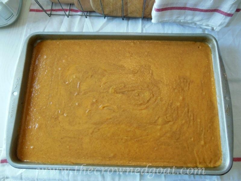 091214-5 Fall Blog Series: Pumpkin Spice Bars Baking Fall