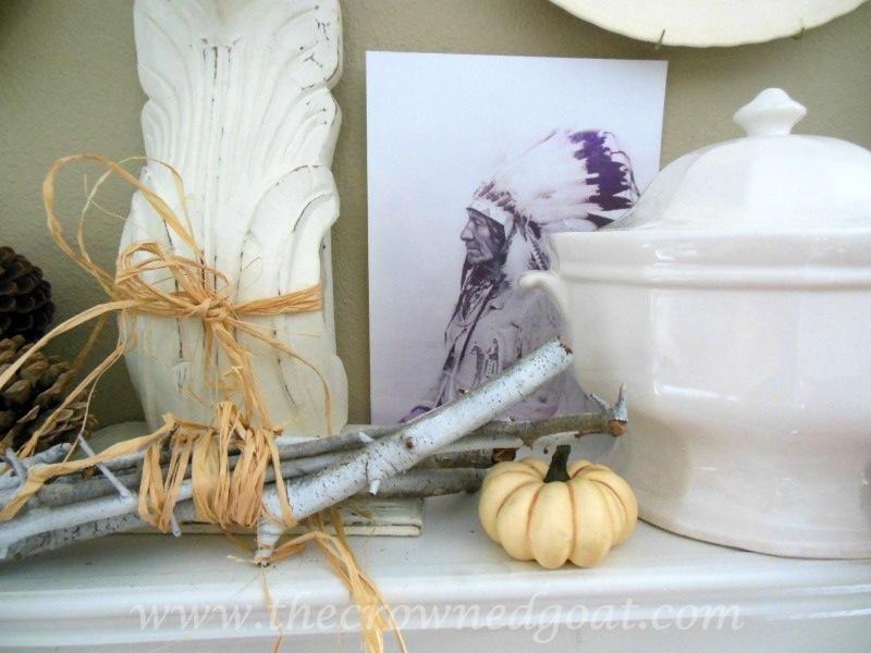 091914-5 Fall Blog Series: Mantle Decorating Holidays