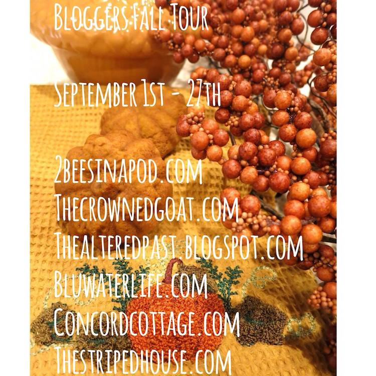 fall_blog_tour Fall Tablescape Decorating Holidays