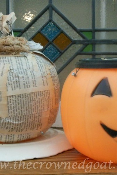 Fall Crafternoon Idea: Upcycled Pumpkin Pails
