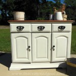 Annie Sloan Chalk Paint Buffet Makeover