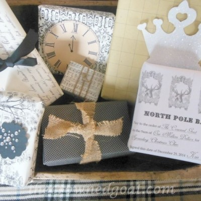 Holiday Blog Series: Bank Note Inspired Wrapping Paper