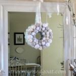 Holiday Blog Series: Yarn Ball Wreath