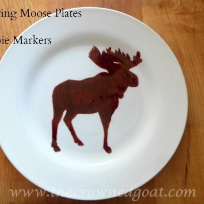Creating Moose Plates with Sharpie Markers