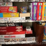Reorganizing the Hall Closet for Games and Craft Supplies