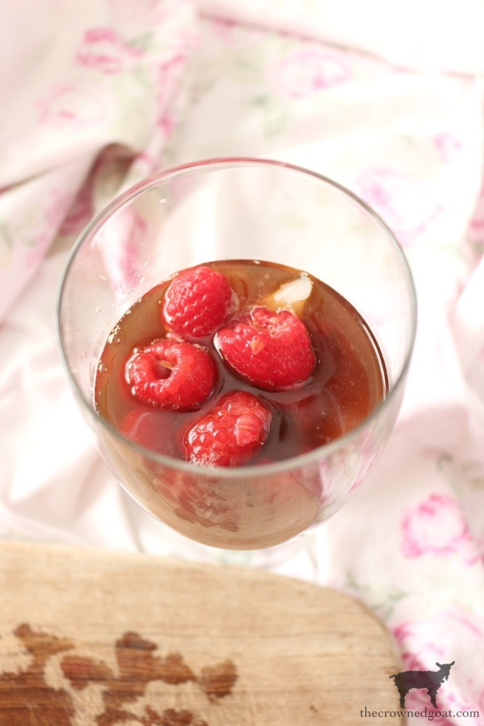 Raspberry-Iced-Coffee-The-Crowned-Goat-9 Raspberry Iced Coffee Holidays Valentines