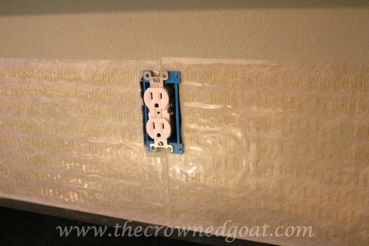030315-8 Kitchen Diaries: Subway Tile Application Day 1 DIY