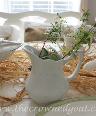 Spring Inspired Kitchen Table