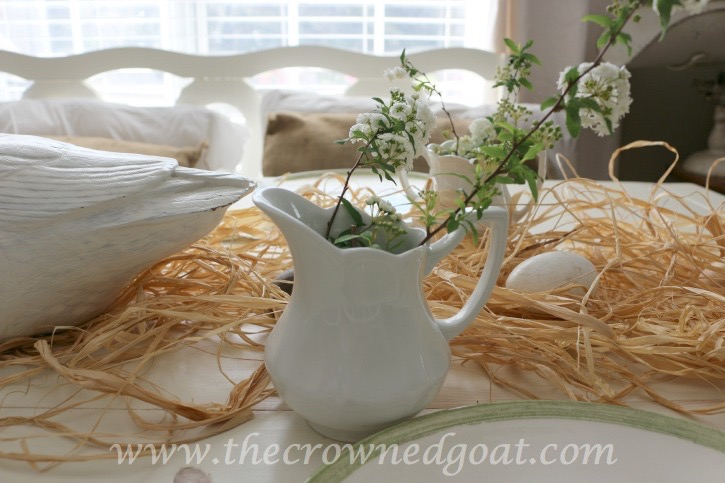 032415-2 Spring Inspired Kitchen Table Decorating Holidays